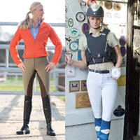 Damen Reitsportbekleidung